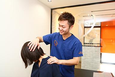 肩こり・首の痛みの施術写真